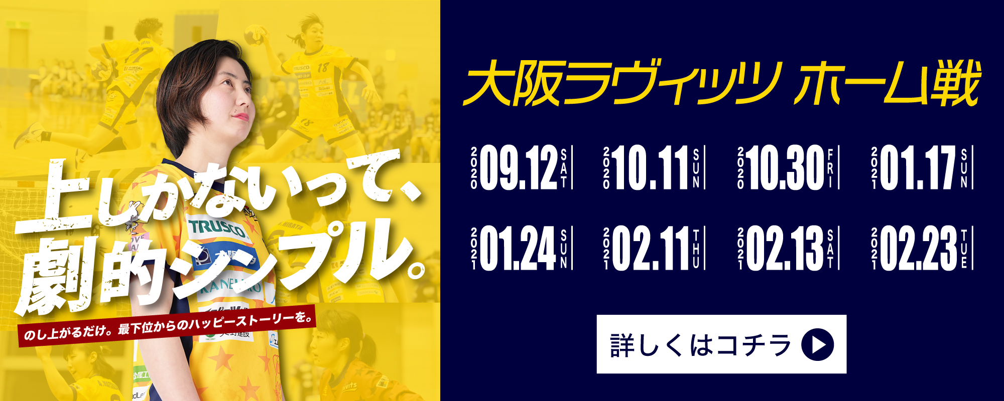 大阪ラヴィッツ試合日程